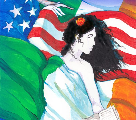 The Daughters of Ireland in America, Women Writers